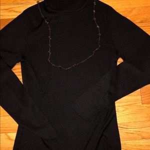 Ann Taylor Silk Turtleneck